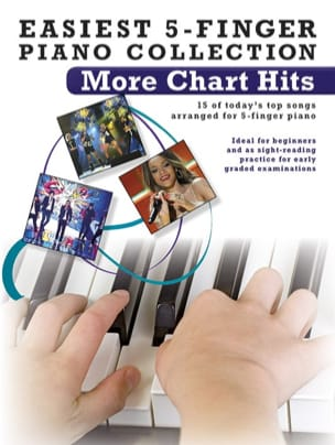 Easiest 5-Finger piano collection - More chart hits laflutedepan