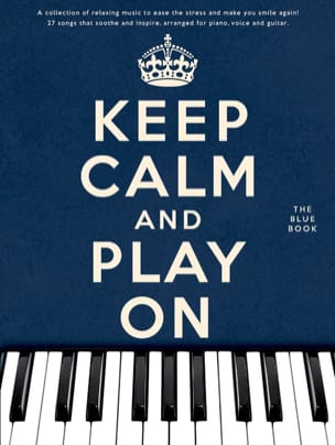 - Keep calm and play on - The blue book - Partition - di-arezzo.fr