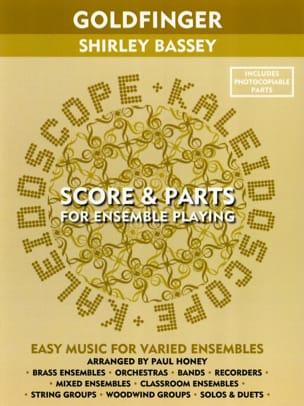 John Barry - Goldfinger (Shirley Bassey) - Kaleidoscope - Partition - di-arezzo.fr