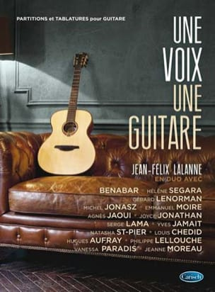 Jean-Felix Lalanne - A voice a guitar - Sheet Music - di-arezzo.co.uk