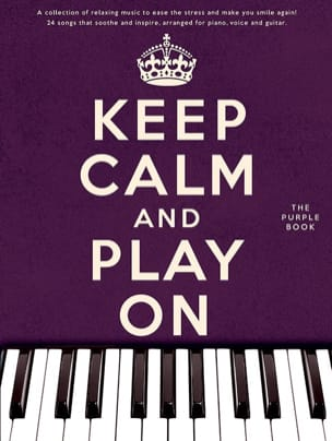 Keep calm and play on - Purple book Partition laflutedepan