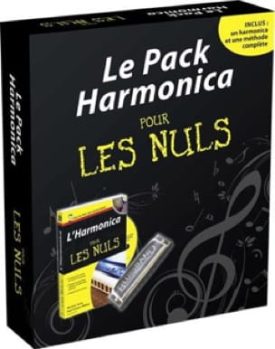 Jean-Jacques MILTEAU et Winslow YERZA - The harmonica pack for dummies with harmonica, book and CD - Sheet Music - di-arezzo.co.uk