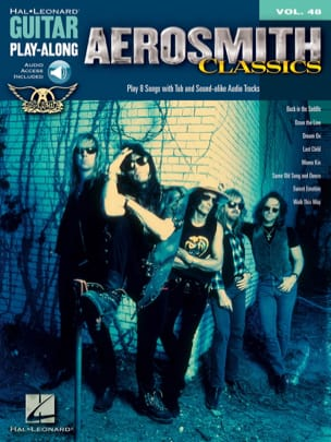 Aerosmith - Guitar play-along volume 48 - Aerosmith Classics - Partition - di-arezzo.fr