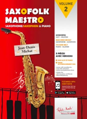 - Saxofolk maestro volume 2 - Sheet Music - di-arezzo.co.uk