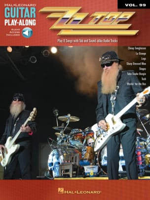 Guitar play-along volume 99 - ZZ Top ZZ Top Partition laflutedepan