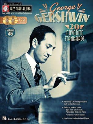 George Gershwin - Jazz play-along volume 45 - George Gershwin - Sheet Music - di-arezzo.co.uk