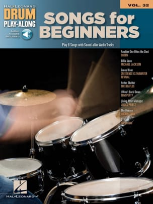 Drum play-along volume 32 Songs for beginners - laflutedepan.com