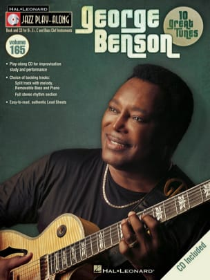 Jazz play-along volume 165 - George Benson George Benson laflutedepan