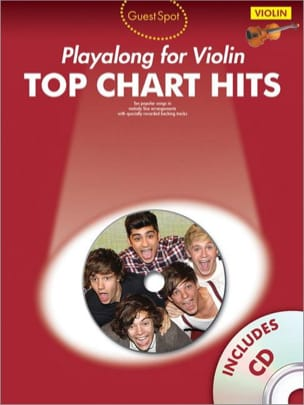 - Guest Spot - Top chart hits playalong for violin - Partition - di-arezzo.fr