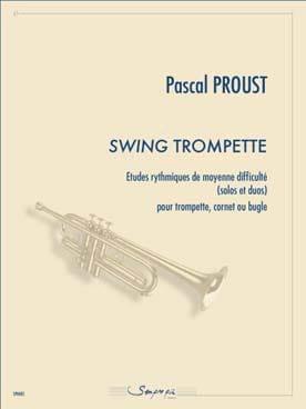 Swing trompette Pascal Proust Partition Trompette - laflutedepan