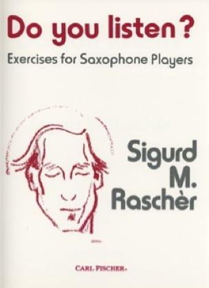 Sigurd M. Rascher - ¿Escuchas? - Partitura - di-arezzo.es