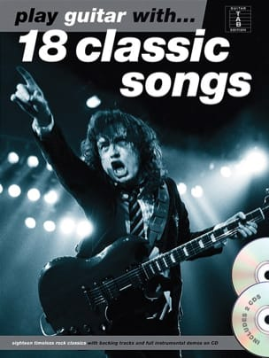 Play guitar with... 18 classic songs avec 2 CDs - laflutedepan.com
