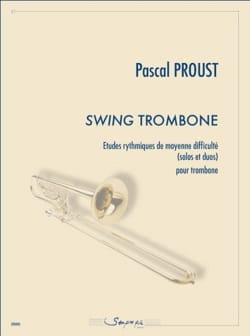 Pascal Proust - Swing trombone - Partition - di-arezzo.fr
