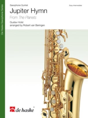 Jupiter hymn from the planets HOLST Partition Saxophone - laflutedepan