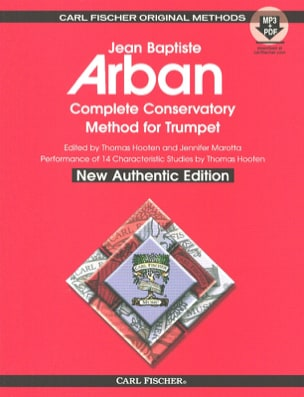 Jean-Baptiste Arban - Complete conservatory method for trumpet - Partition - di-arezzo.fr