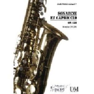 Sonatine et Capriccio - Opus 131 Nicolas Bacri Partition laflutedepan