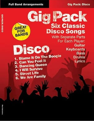 - Gig Pack - Six classic disco songs - Partition - di-arezzo.fr