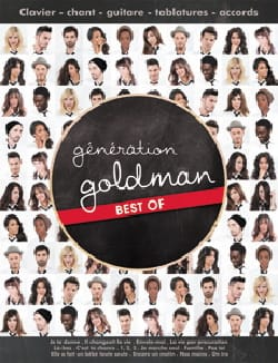 Jean-Jacques Goldman - Goldman Generation - Best of - Sheet Music - di-arezzo.com