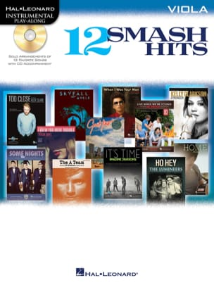 12 Smash hits - Instrumental play-along - laflutedepan.com