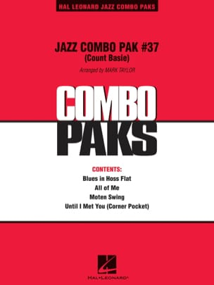 Count Basie - Jazz Combo Pak # 37 (Count Basie) - Partition - di-arezzo.fr