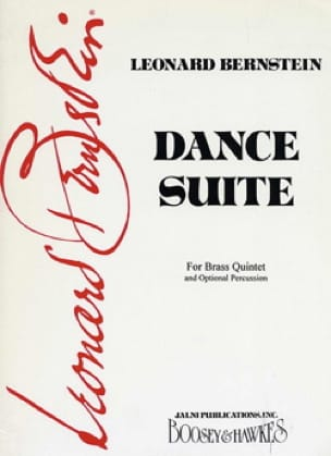 Leonard Bernstein - Dance Suite - Conducteur et parties - Partition - di-arezzo.fr