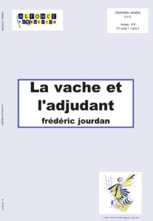 La vache et l'adjudant Frédéric Jourdan Partition laflutedepan