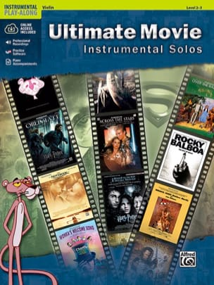 Ultimate movie - Instrumental solos Partition Violon - laflutedepan