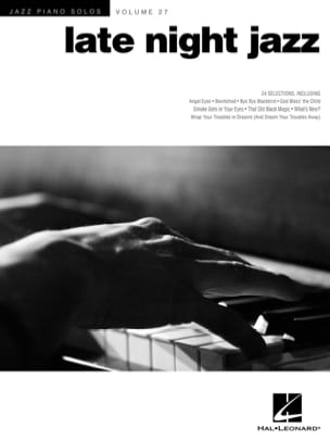 - Jazz Piano Solo Series Volume 27 - Late night jazz - Sheet Music - di-arezzo.co.uk