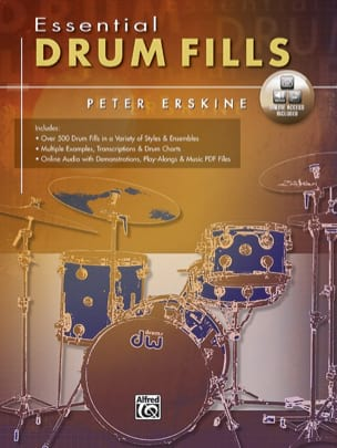 Peter Erskine - Essential drum fills - Partition - di-arezzo.fr