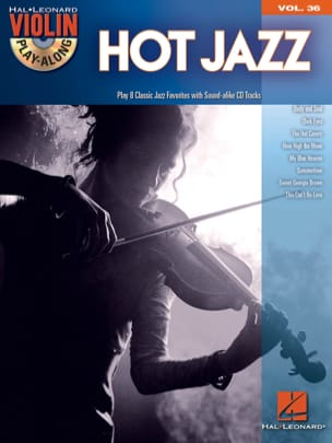 Violin play-along volume 36 - Hot jazz Partition laflutedepan