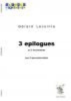 Gérard Lecointe - 3 Epilogues in 3 movements - Sheet Music - di-arezzo.com