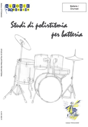 Stefano Ottomano - Studi di poliritmia per batteria - Sheet Music - di-arezzo.com