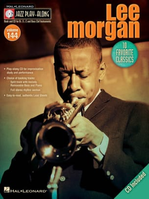 Jazz play-along volume 144 - Lee Morgan - laflutedepan.com