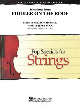 Jerry Bock - Un Violon Sur le Toit - Pop specials for strings - Partition - di-arezzo.fr