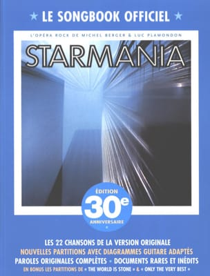 Berger Michel / Plamondon Luc - Starmania - Edition 30e anniversaire - Partition - di-arezzo.fr
