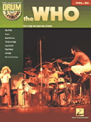 Drum play-along volume 23 - The Who - The Who - laflutedepan.com