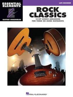 Rock classics - 15 Hits arranged for three or more guitarists - Partition - di-arezzo.fr