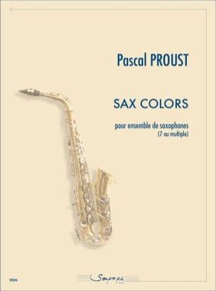 Pascal Proust - Sax colors - Sheet Music - di-arezzo.com