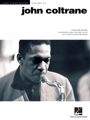John Coltrane - Jazz piano solos volume 24 - Partition - di-arezzo.fr