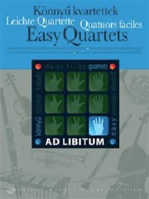 Quatuors faciles - Partition - ENSEMBLES - laflutedepan.com