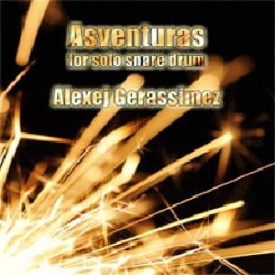 Alexej Gerassimez - Asventuras - Partition - di-arezzo.fr