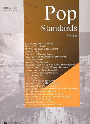 Pop standards - Partition - Pop / Rock - laflutedepan.com