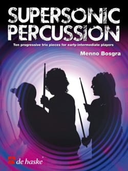 Menno Bosgra - Supersonic percussion - Partition - di-arezzo.fr
