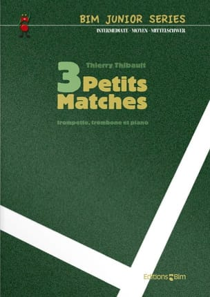 3 Petits matches Thierry Thibault Partition laflutedepan