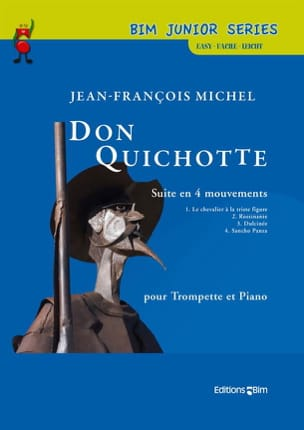 Don Quichotte Jean-François Michel Partition Trompette - laflutedepan
