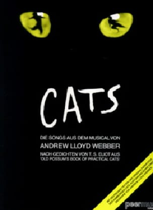 Andrew Lloyd Webber - Cats - Lyrics version in German - Sheet Music - di-arezzo.co.uk