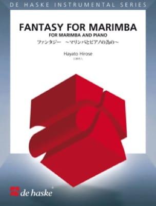 Fantasy for marimba - Hayato Hirose - Partition - laflutedepan.com
