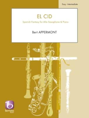 El Cid - Bert Appermont - Partition - Saxophone - laflutedepan.com