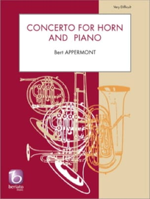 Concerto for horn and piano - Bert Appermont - laflutedepan.com