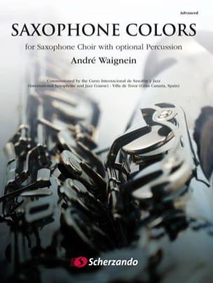 Saxophone colors - André Waignein - Partition - laflutedepan.com